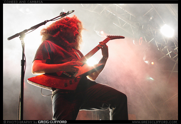 Coheed and Cambria at Hevy Fest 2015